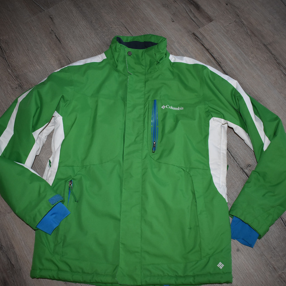 Clothing, Shoes & Accessories Coats & Jackets Columbia Omni Shield Jacket Medium Green